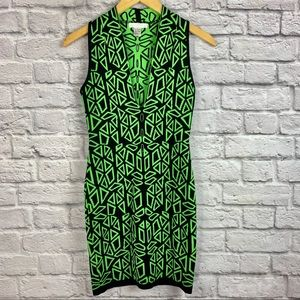 Cashmere  Size Small Bodycon Dress Deep V Neck